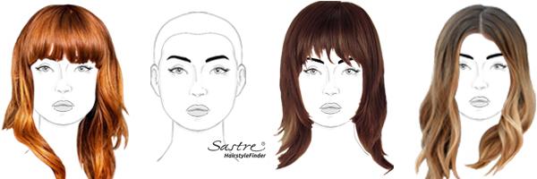 Die Vorteilhaftesten Frisuren Für Runde Gesichter